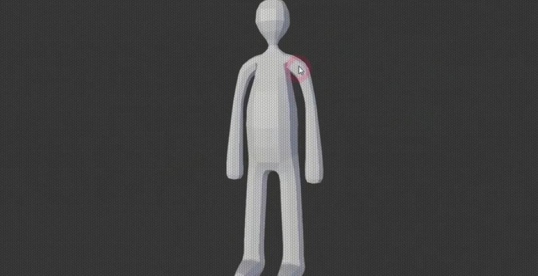 Personagens 3D sem modelagem.