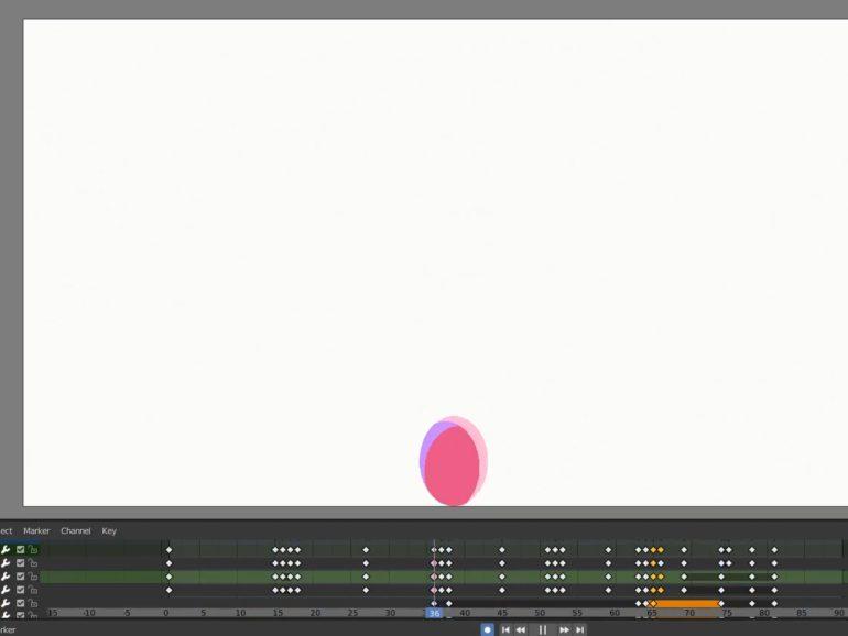 Animação e Motion 2D no Blender: aula 1