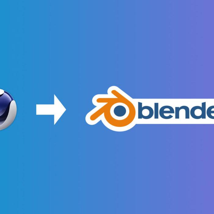 Live: do Cinema 4D para o Blender